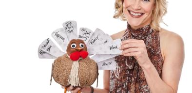 AmyK, Leadership Guru with a thankful Thanksgiving turkey