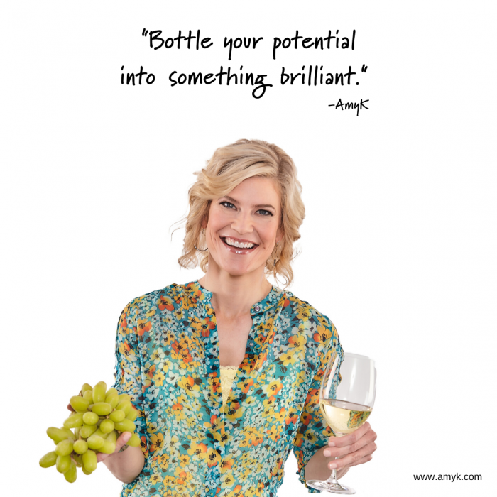 Bottle your potential into something brilliant