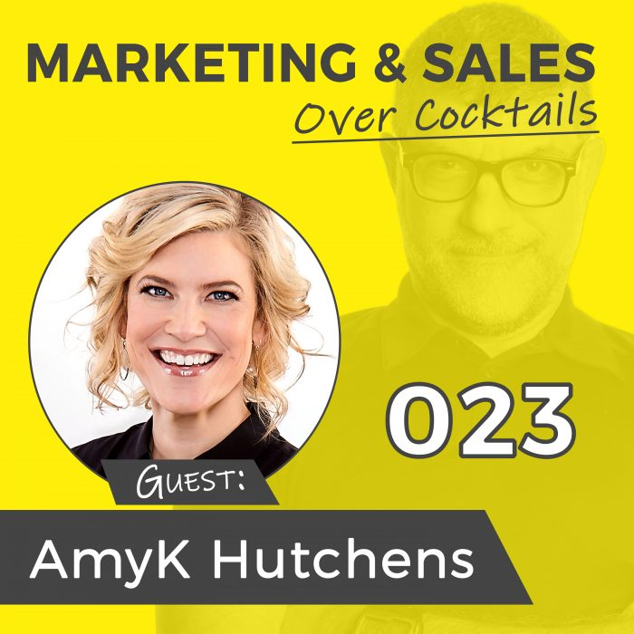 AmyK's interview on Marketing and Sales Over Cocktails with Allan Langar