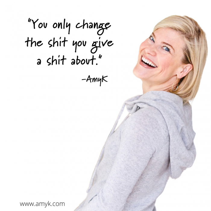 Willingness to change when you care