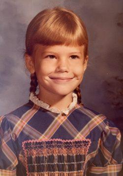 AmyK grade school photo