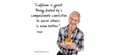 Fueled by a compassionate conviction to serve others.